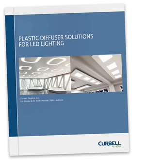 Plastic Diffuser Solutions for LED Lighting White Paper (Curbell Plastics)